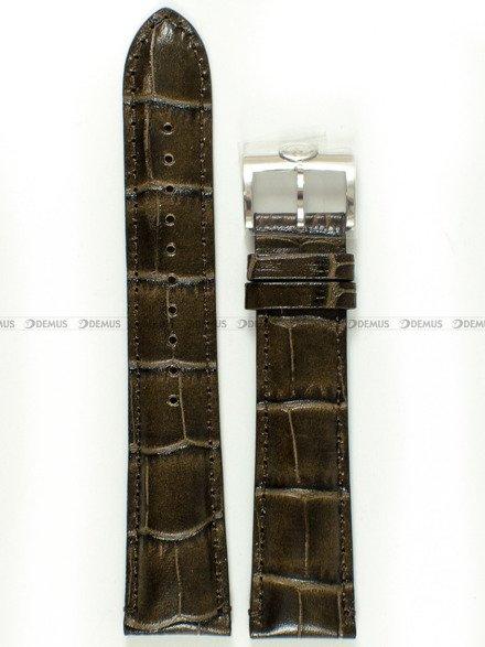 Pasek skórzany do zegarka Orient Star SDK05004K0 - UDFCNST - 21 mm