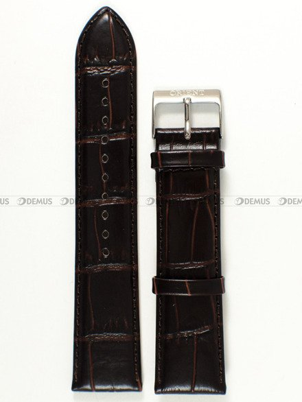 Pasek skórzany do zegarka - Orient CFD0E002W0 UDDWHST - 22 mm