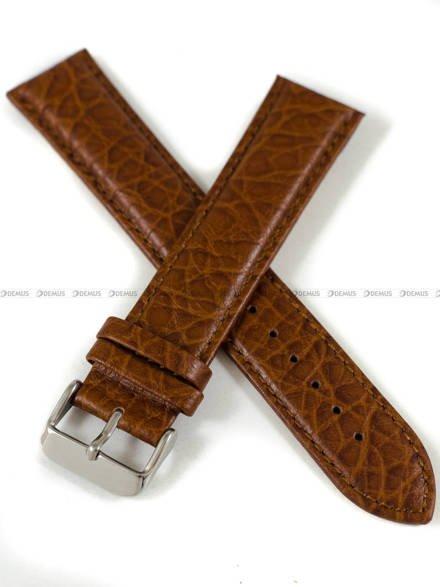 Pasek skórzany do zegarka - Pacific W05XL.22.3.3 - 22 mm