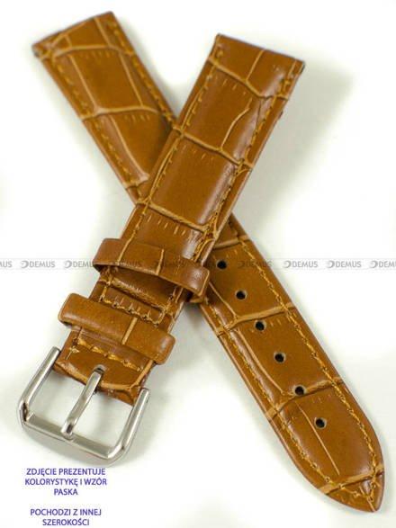 Pasek skórzany do zegarka - Pacific W102.22.3.3 - 22 mm