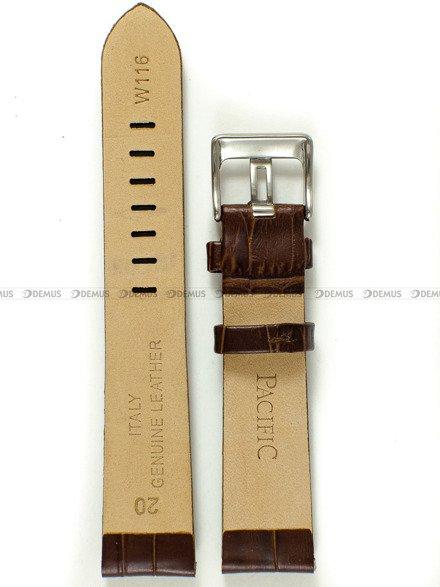 Pasek skórzany do zegarka - Pacific W116.20.2 - 20 mm