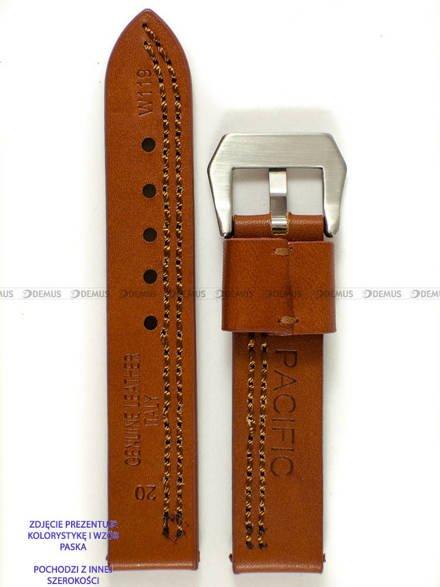 Pasek skórzany do zegarka - Pacific W119.22.3.3 - 22 mm