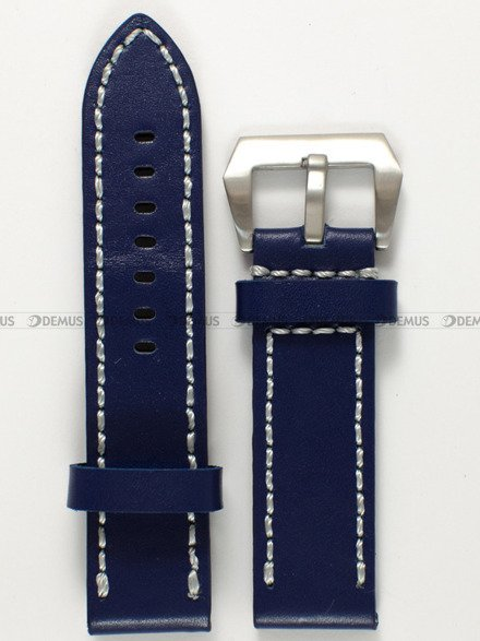 Pasek skórzany do zegarka - Pacific W27.24.5.7 - 24 mm