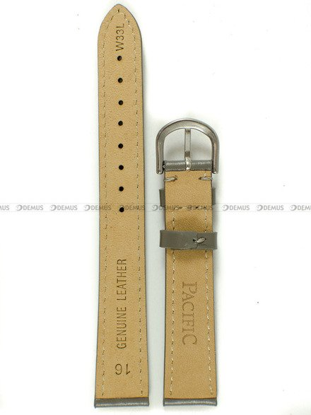 Pasek skórzany do zegarka - Pacific W33L.16.6.6 - 16 mm