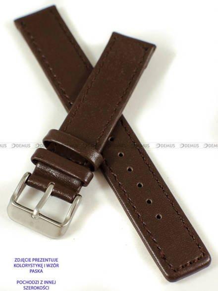 Pasek skórzany do zegarka - Pacific W37.20.2.2 - 20 mm