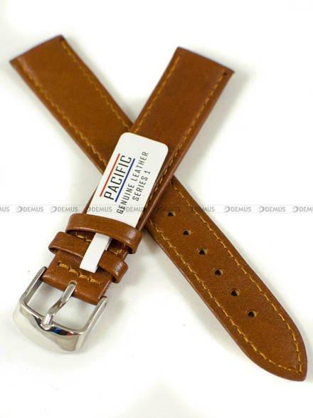 Pasek skórzany do zegarka - Pacific W44L.18.3.3 - 18 mm