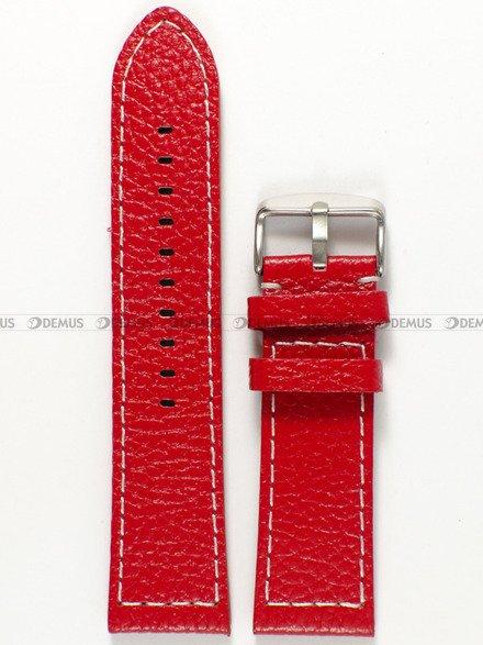 Pasek skórzany do zegarka - Pacific W45.24.4.7 - 24 mm