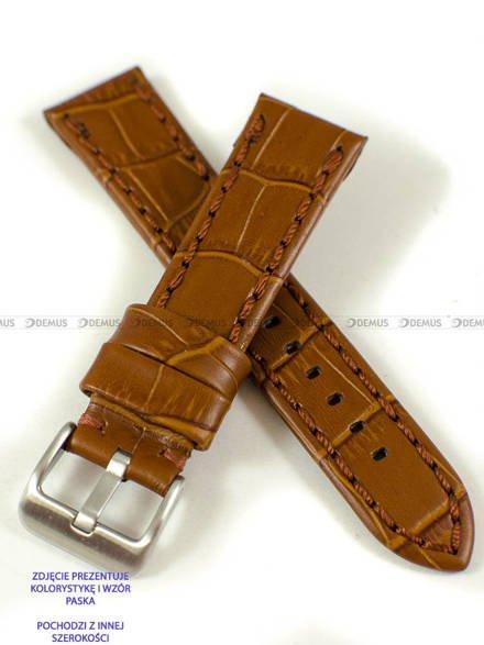 Pasek skórzany do zegarka - Pacific W49.24.3.3 - 24 mm