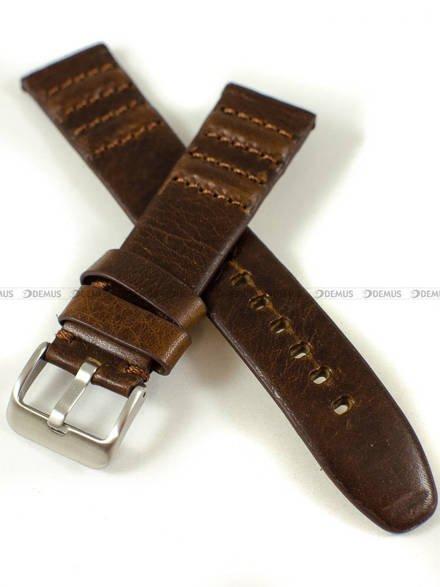 Pasek skórzany do zegarka - Pacific W69.22.2.2 - 22 mm
