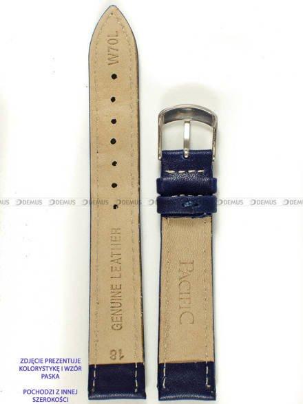Pasek skórzany do zegarka - Pacific W70L.12.5.7 - 12 mm