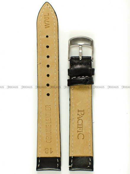 Pasek skórzany do zegarka - Pacific W70L.18.1.1 - 18 mm