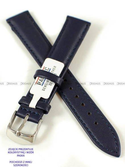 Pasek skórzany do zegarka - Pacific W70L.24.5.5 - 24 mm