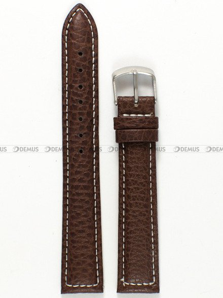Pasek skórzany do zegarka - Pacific W71L.18.2.7 - 18 mm