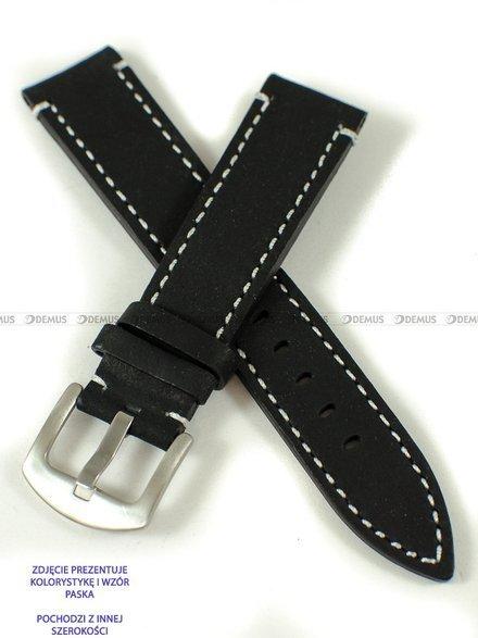 Pasek skórzany do zegarka - Pacific W74.22.1.7 - 22 mm