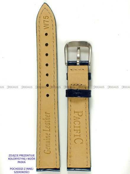 Pasek skórzany do zegarka - Pacific W75.14.5.5 - 14 mm