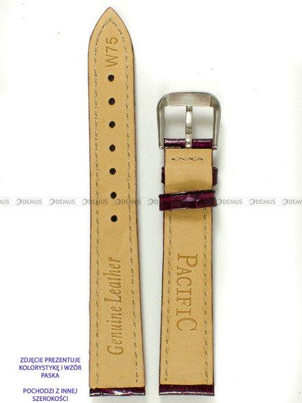 Pasek skórzany do zegarka - Pacific W75.18.14.14 - 18 mm