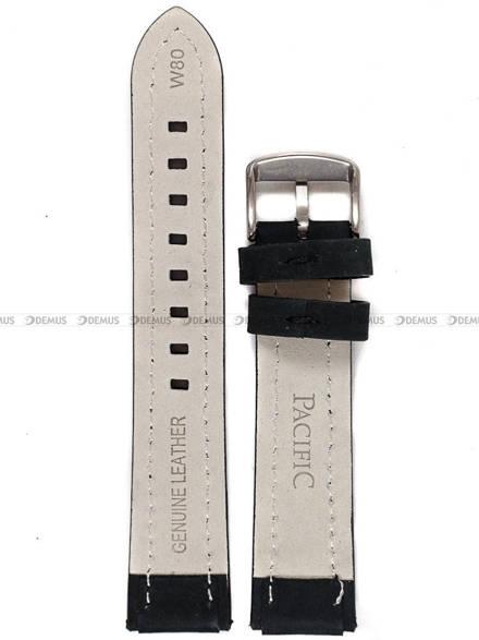 Pasek skórzany do zegarka - Pacific W80.20.1.1 - 20 mm