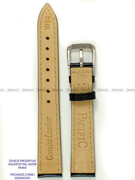 Pasek skórzany do zegarka - Pacific W94.20.1.1 - 20 mm