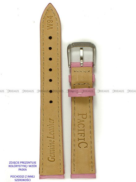 Pasek skórzany do zegarka - Pacific W94.20.21.21 - 20 mm