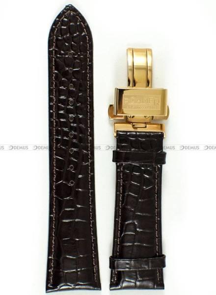 Pasek skórzany do zegarka Roamer - 935856 49 23 09 - 24 mm