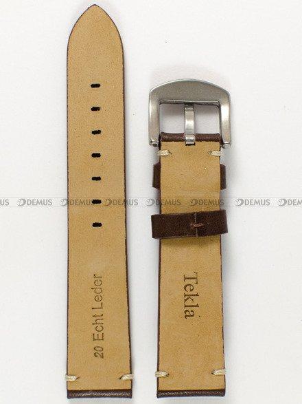 Pasek skórzany do zegarka - Tekla PT20.20.2.7 - 20 mm