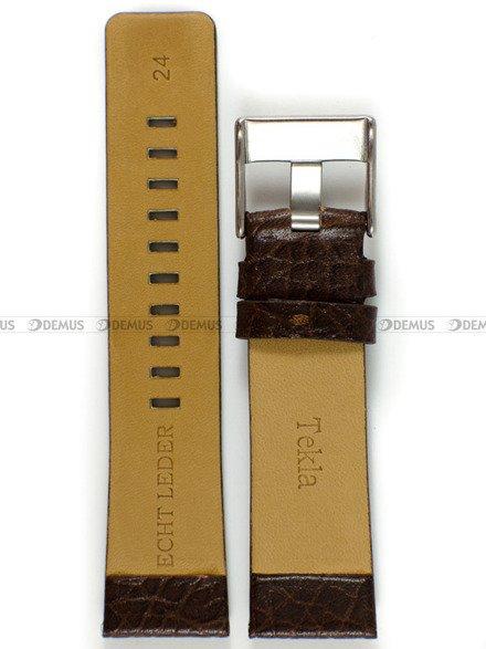 Pasek skórzany do zegarka - Tekla PT30.24.2 - 24 mm