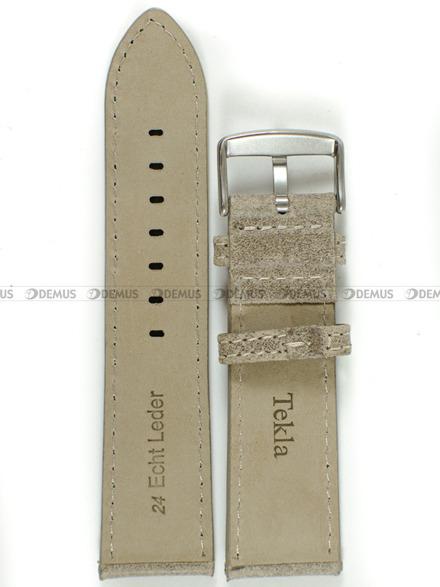 Pasek skórzany do zegarka - Tekla PT30.24.8.7 - 24 mm
