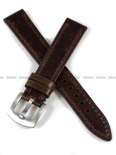 Pasek skórzany do zegarka - Tekla PT64.18.2.2 - 18 mm