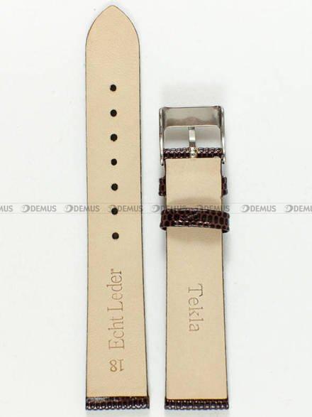 Pasek skórzany do zegarka - Tekla PT7.18.2 - 18 mm