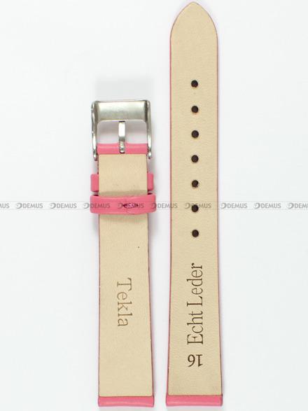 Pasek skórzany do zegarka - Tekla PT8.16.16 - 16 mm