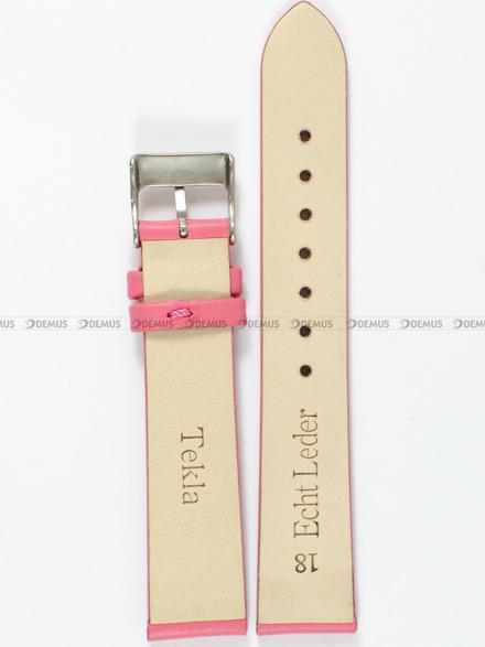 Pasek skórzany do zegarka - Tekla PT8.18.16 - 18 mm