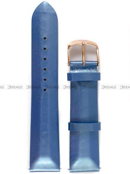Pasek skórzany do zegarka Vostok Europe Undine VK64-515B527 - 20 mm