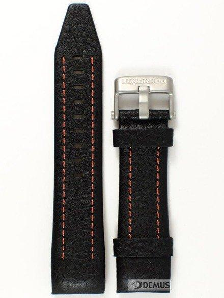 Pasek skórzany do zegarka Vostok Lunokhod YM86-620A506 - 25 mm
