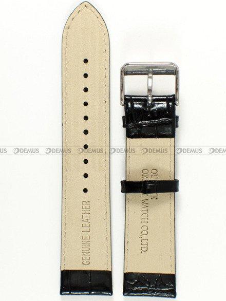 Pasek skórzany do zegarka - Orient SER27006B0 UDDYESB - 22 mm