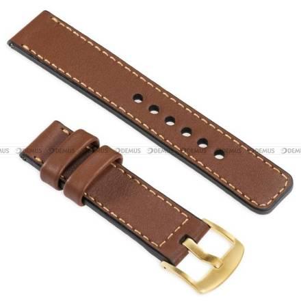Pasek skórzany do zegarka lub smartwatcha - moVear WQU0C01GD00GDPM26B2 - 26 mm