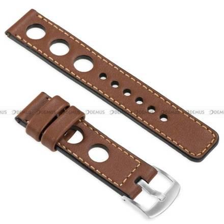 Pasek skórzany do zegarka lub smartwatcha - moVear WQU0R01GD00SLBM20B2 - 20 mm