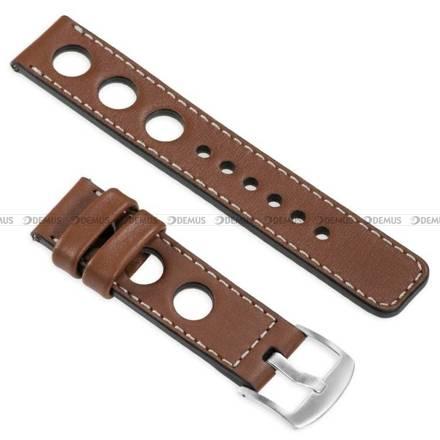 Pasek skórzany do zegarka lub smartwatcha - moVear WQU0R01SL00SLBM20B2 - 20 mm