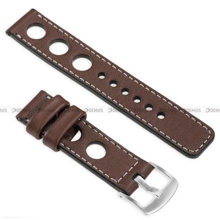 Pasek skórzany do zegarka lub smartwatcha - moVear WQU0R01SL00SLBM22B1 - 22 mm
