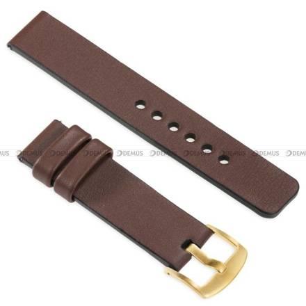 Pasek skórzany do zegarka lub smartwatcha - moVear WQU0S010000GDPM22B1 - 22 mm