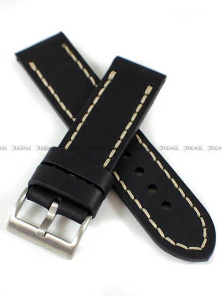 Pasek skórzany ręcznie robiony do zegarka - Tekla PT-HM3-24.1.7 - 24 mm