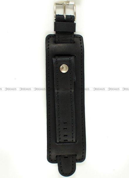 Pasek skórzany z podkładką do zegarka - Horido 0112.01.20S - 20 mm