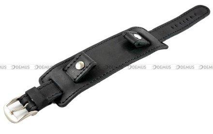 Pasek skórzany z podkładką do zegarka - Horido 0112.01.24S - 24 mm