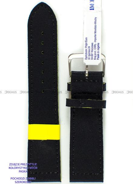 Pasek wodoodporny Lycra do zegarka - Morellato A01X5271C90119CR18 - 18 mm