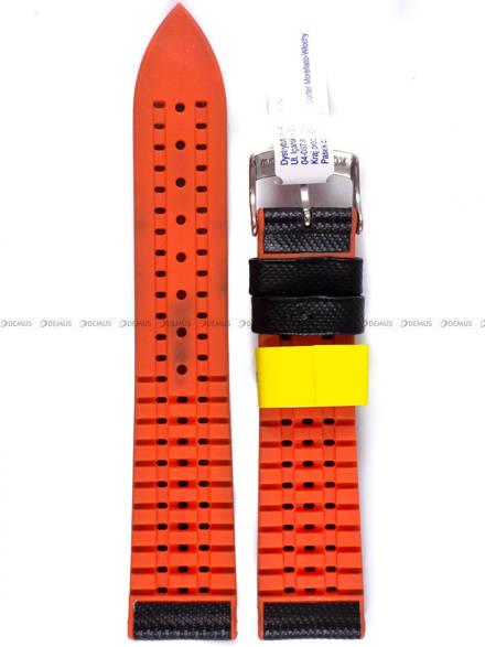Pasek wodoodporny do zegarka - Morellato A01X4762797886CR20 - 20 mm