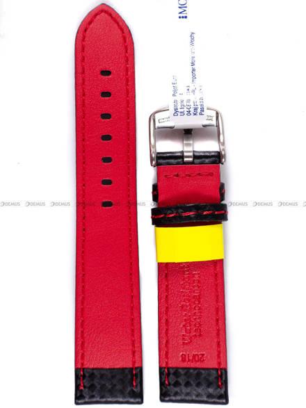 Pasek wodoodporny karbonowy do zegarka - Morellato A01U3586977883 20mm