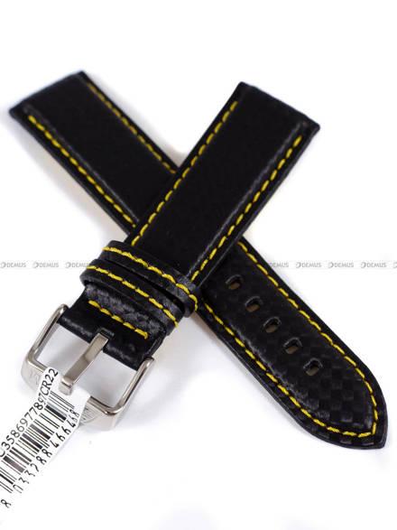 Pasek wodoodporny karbonowy do zegarka - Morellato A01U3586977897 22mm