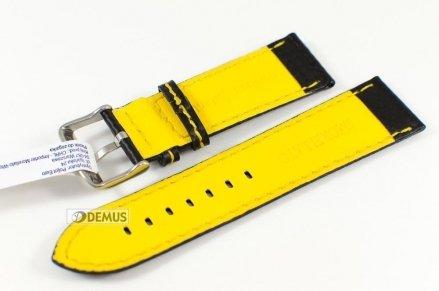 Pasek wodoodporny karbonowy do zegarka - Morellato A01U3586977897 24mm