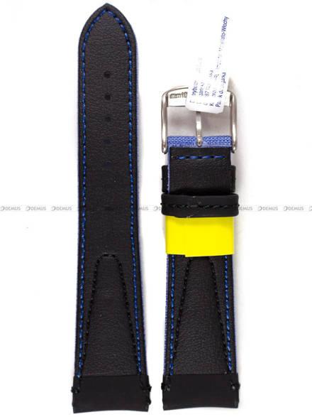 Pasek wodoodporny skórzano-nylonowy do zegarka - Morellato A01X4747110064 - 22 mm