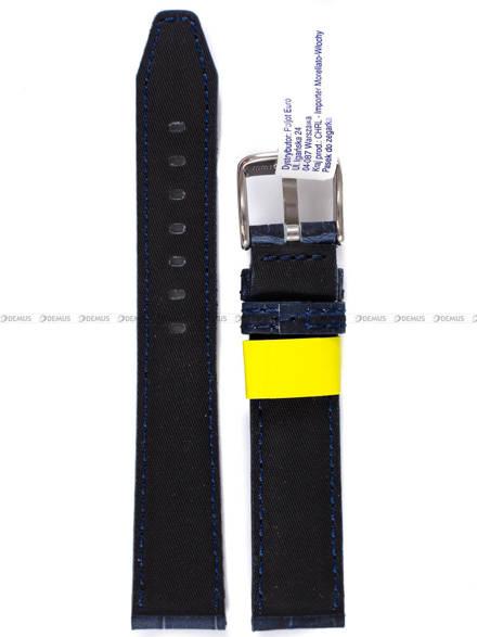 Pasek wodoodporny skórzany do zegarka - Morellato A01X4497B44062 - 18 mm