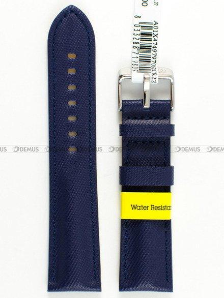 Pasek wodoodporny skórzany do zegarka - Morellato A01X4749797062 - 22 mm